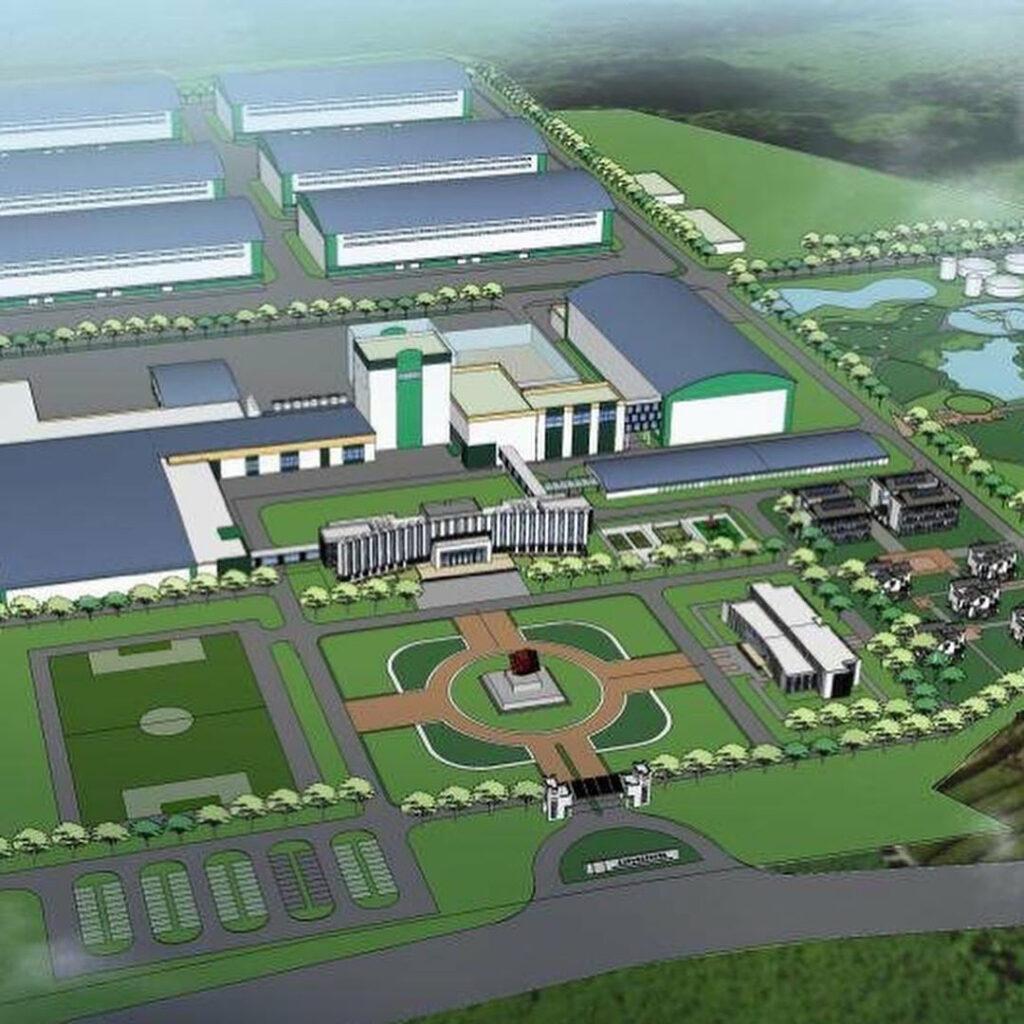 Строительство молокоперерабатывающего парка