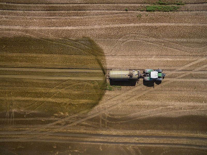 Удобрение полей Чувашии